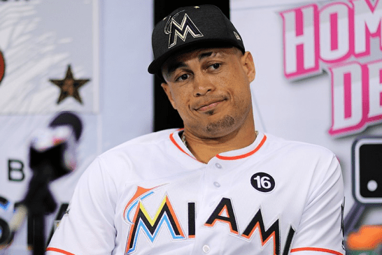 Gone fishing, Giancarlo Stanton becomes the seventh MVP from a losing team