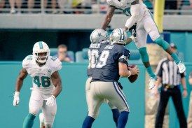 The Dolphins make me cry, Reshad Jones is taking his talents to the Pro Bowl and an under paid player joins him