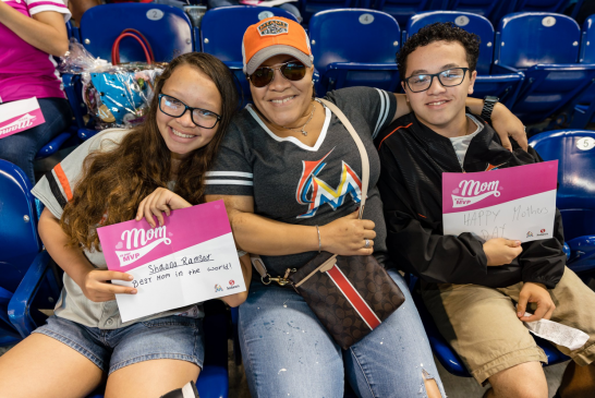 Gone fishing, Marlins lacked the force but put up a fight for the Moms