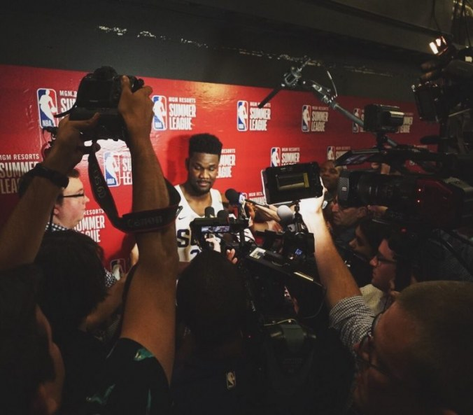Summer League play leads me to draft the top five NBA Draft picks differently