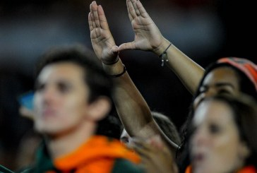 The Perfect Storm, everybody in their seats, this University of Miami football class is ready to begin