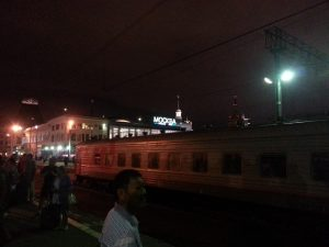 the train in moscow