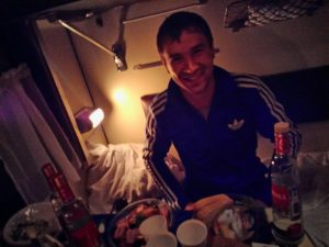 russians, food and vodka