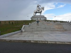 The Genghis Khaan statue