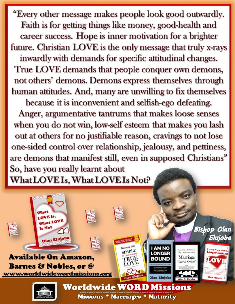 what love is or not ad message attitude demons portrait