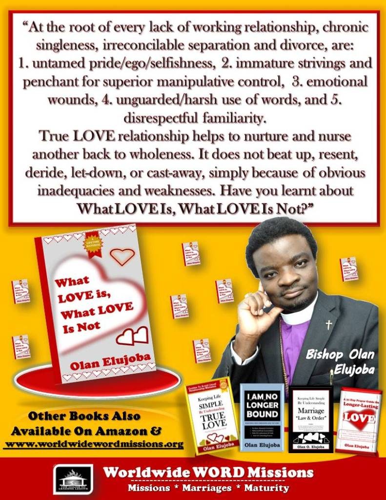 what love is or not ad message