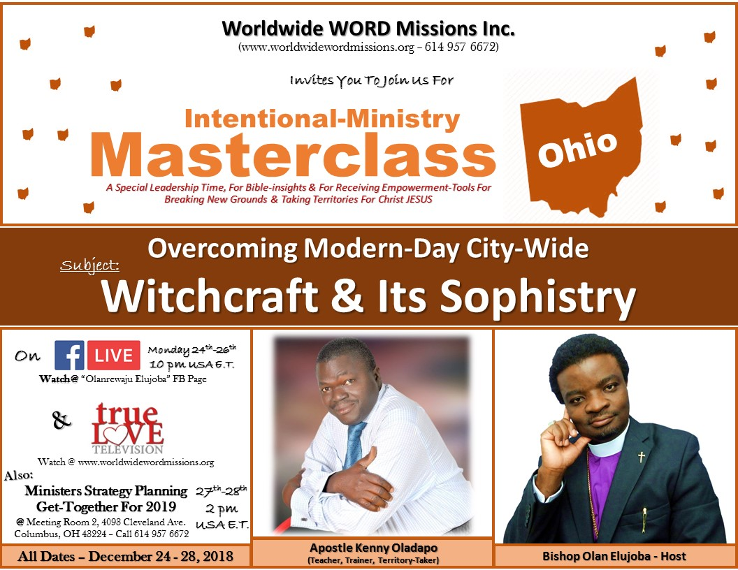 Intentional Ministry Masterclass