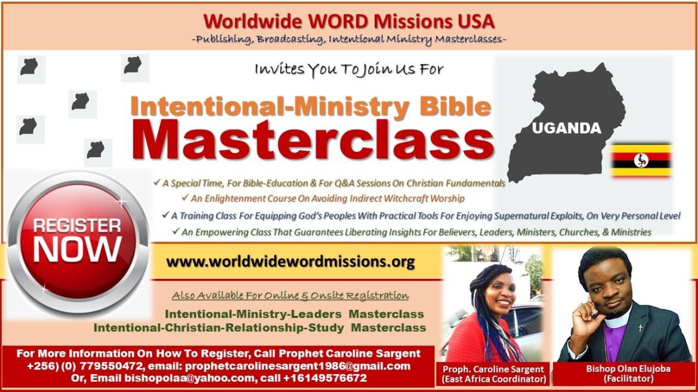 Intentional Ministry MasterClass Uganda