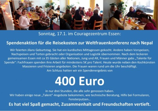 Spendenaktion 17.1
