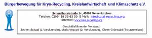 Bürgerbewegung Kryorecycling