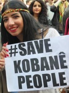 save kobane people
