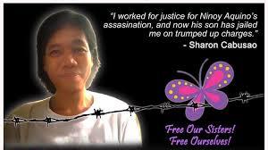 free Sharon Cabusao