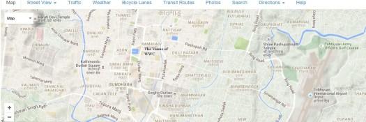 151206 Map Kathmandu KAMALADI Venue WWC