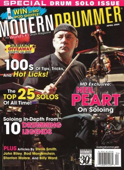 Modern Drummer April 2006