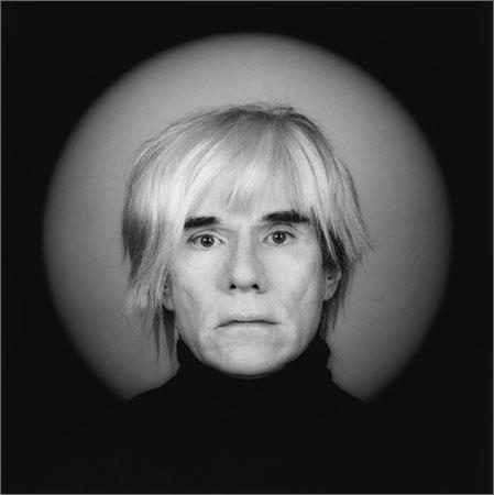 Andy Warhol Self Portrait Photo