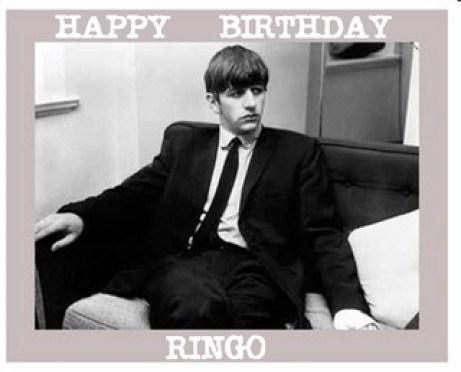 Ringo Birthday
