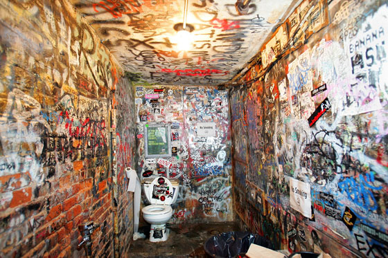 Second Scariest Toilet In Rock
