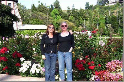 Sue, Gail, Lake Shrine