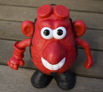 Potatohead Hellboy
