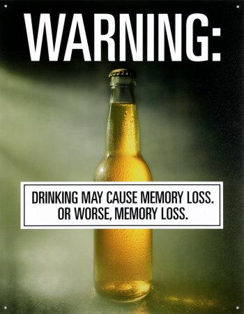 Drinking Memory Loss