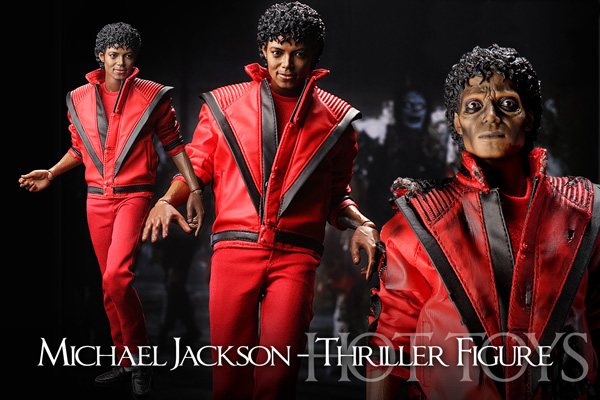 Hot Toys Michael Jackson Thriller 12 Inch Figure