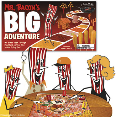 Mr Bacon Game