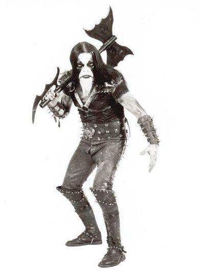 black metal guy