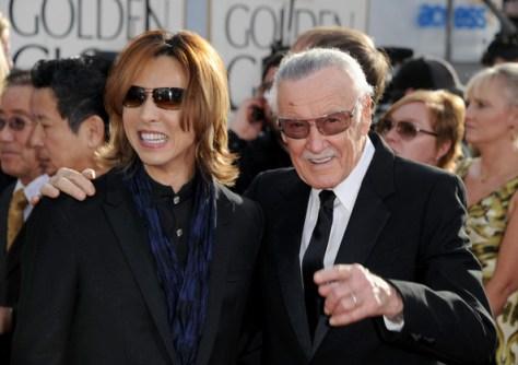 Stan Lee and Yoshiki