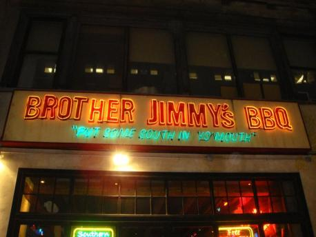 Brother Jimmys Restaurant Union Square