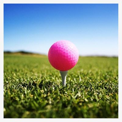 Hot PinkGolf Ball