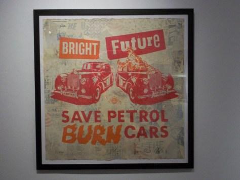 Bright Future Save Petrol By Shepard Fairey