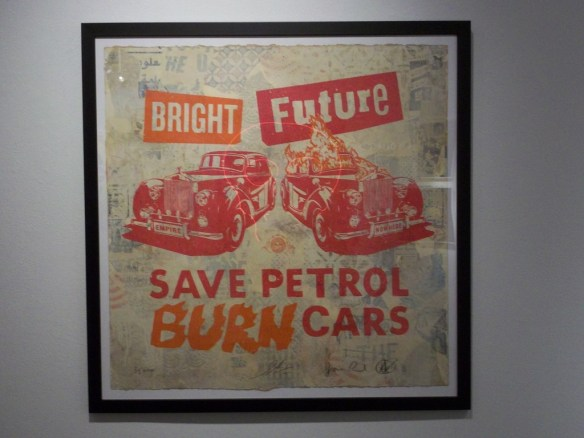 Bright Future Save Petrol By Shepard Fairey