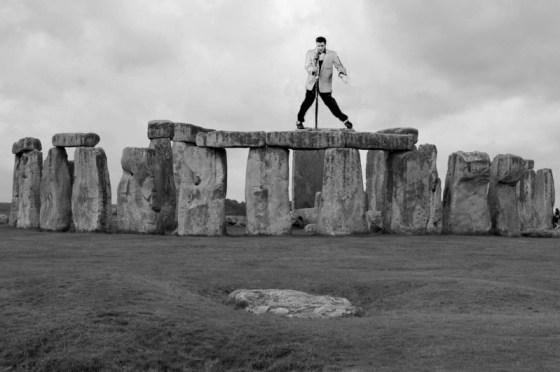 Elvis at Stonehenge