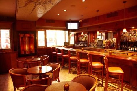 Interior Bar Shot at Christos Steak House