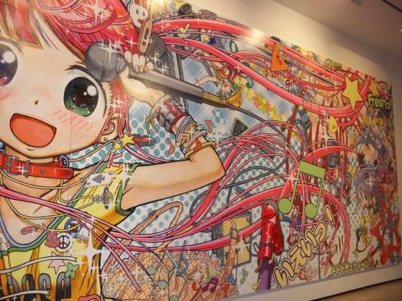 Large Manga Painting