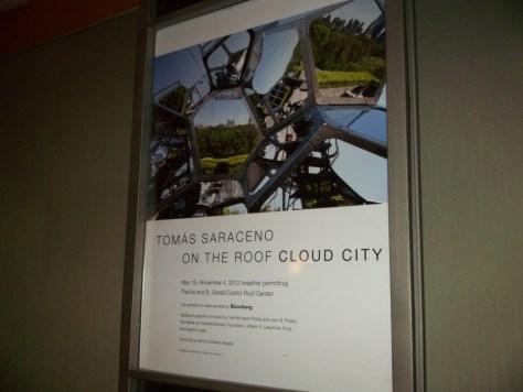 Saraceno Sculpture Cloud City Poster