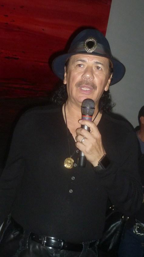 Carlos Santana Speaks