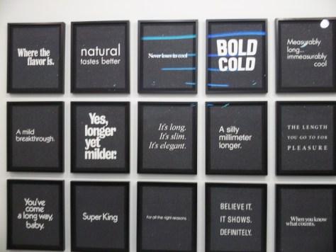Hank Willis Thomas Smoking Slogans