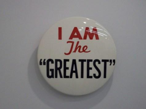 Hank Willis Thomas I Am The Greatest Button