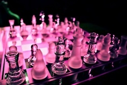 Pink Chess Set
