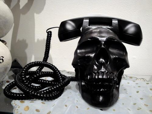 Skull Corded Telephone