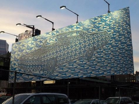 Illusionist Chrysler Billboard
