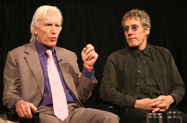 Chris Stamp and Roger Daltrey