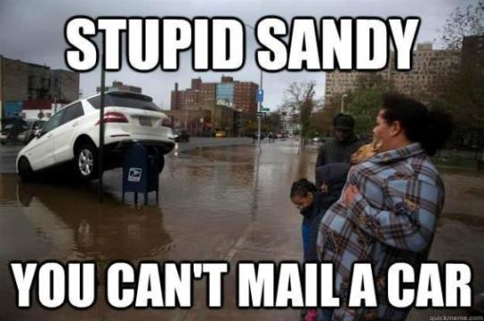 Sandy Mercedes Mail Box