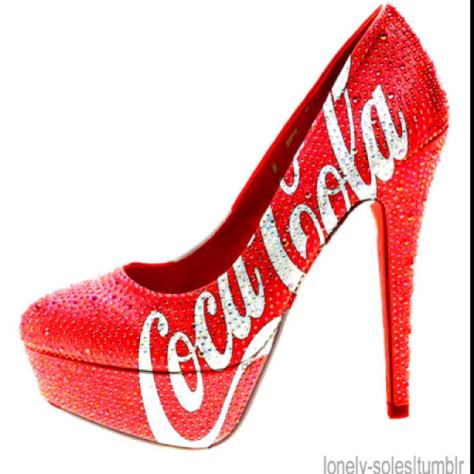 Coca Cola Spike Heel