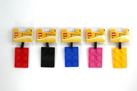 LEGO Brick Luggage Tags Set