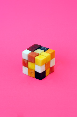 Fruit Rubiks Cube