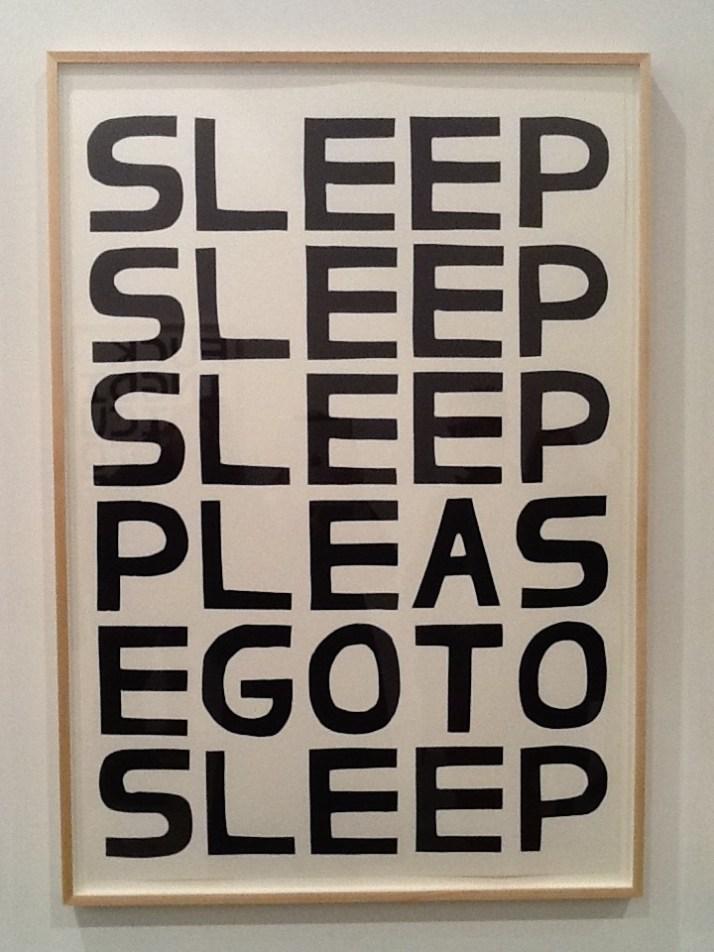 Sleep Please Go to Sleep