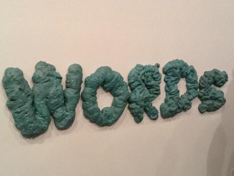 Words Wall Sculpture