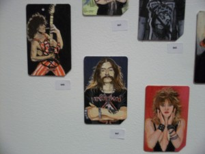 Single Fare 3 Metrocard Art Van Halen Lemmy Madonna